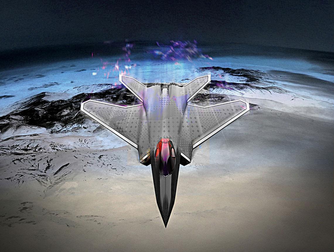 Wizja NGF według projektantów Dassault Aviation.