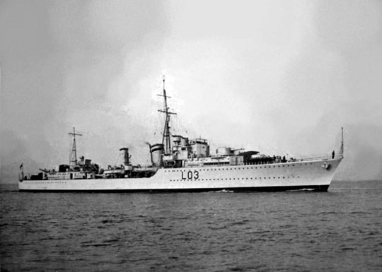 16 lutego 1940 r. brytyjski niszczyciel HMS Cossack przejął kontrolę nad zbiornikowcem-zaopatrzeniowcem Kriegsmarine Altmark na wodach Norwegii, uwalniając transportowanych nim jeńców.