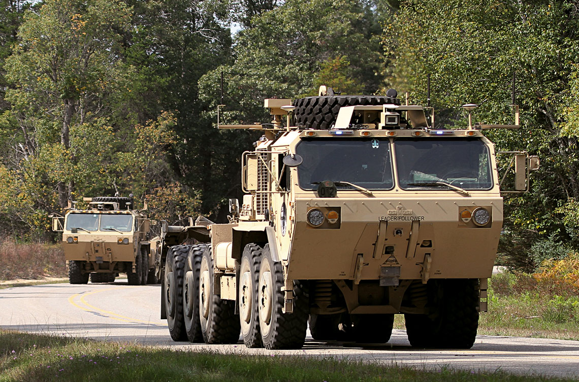 Amerykanie są dziś najbardziej zaawansowani we wprowadzaniu zautomatyzowanych i autonomicznych pojazdów szeroko pojętego wsparcia logistycznego.