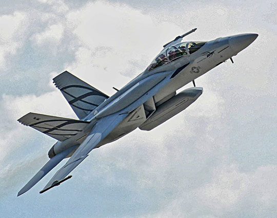 Wwersji Block III wykorzystano część rozwiązań przetestowanych kilka lat temu na demonstratorze Advanced Super Hornet.