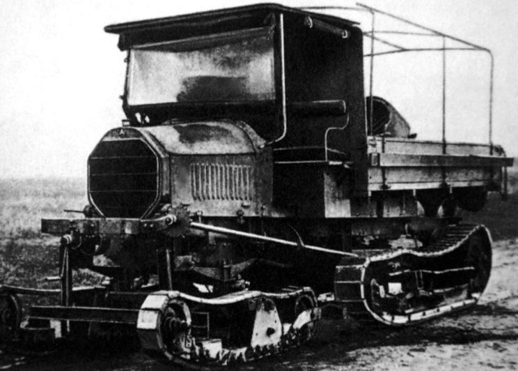 druga odmiana ciągnika Bremenwagen, którego nazwę zmieniono po jakimś czasie na Marienwagen, z układem kierowniczy składającym się z dodatkowego układu gąsienicowego.