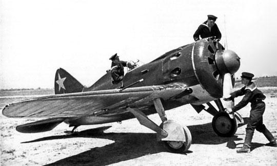 Rosyjskie samoloty myśliwskie Polikarpow I-16 wzmacniając front polski na kierunku niemieckim odsamego początku 1939 r. nie mogły zagrozić w niczym integralności Polski w sytuacji kiedy towarzyszyłaby takiemu przemieszczeniu obecność oficerów Francji oraz dyplomacja brytyjska.