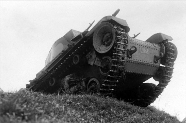 LT-35, podstawowy czołg Armii Czechosłowackiej.