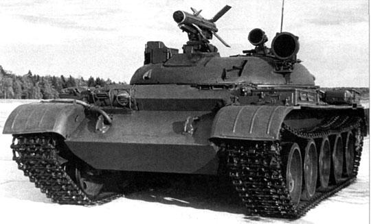 Rakietowy niszczyciel czołgów Obiekt 150 podczas prób.