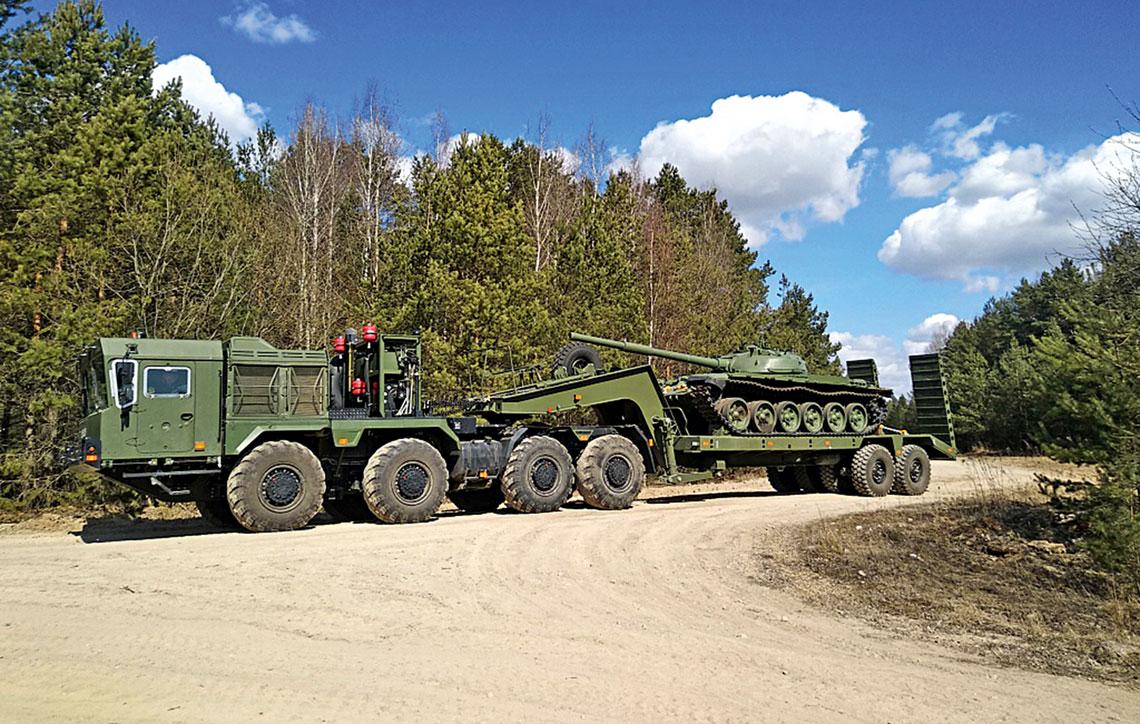 Ciężki ciągnik siodłowo-balastowy MZKT-741501-010 powstał w odpowiedzi na potrzeby Sił Zbrojnych Republiki Białorusi. Konstrukcyjnie pojazd niczym szczególnym się nie wyróżnia. Ale tego też wymaga od niego zamawiający.
