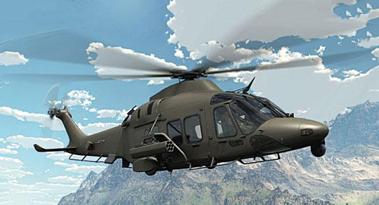 Inną konstrukcją, którą można brać pod uwagę z oferty Leonardo, jest AW169M. Wkrótce trafi do służby w Siłach Zbrojnych Włoch.