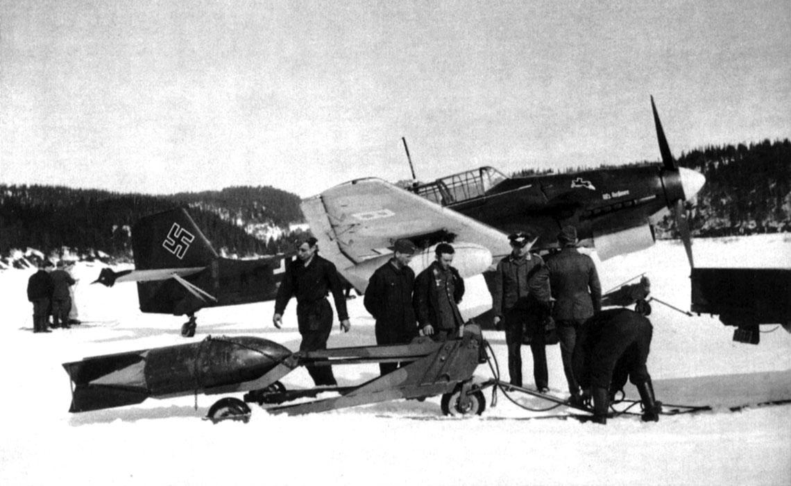 Ważnym atutem niemieckich wojsk, który dawał im istotną przewagę nad aliantami, były bombowce nurkujące Ju 87, stacjonujące pod Trondheim. W razie potrzeby udzielały szybkiego i skutecznego wsparcia.