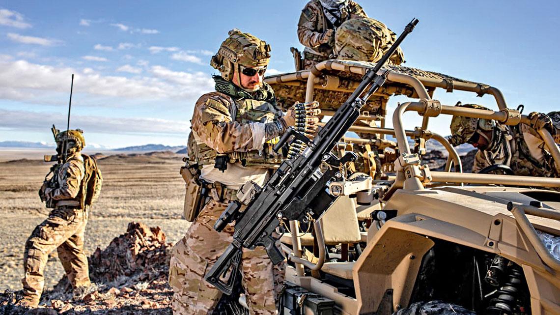 Żołnierze USSOCOM rozpoczęli testy nowego lekkiego – araczej uniwersalnego – karabinu maszynowego, zaprojektowanego przez firmę SIG Sauer Inc. – MG 338 na amunicję .338 Norma Magnum (8,6×63mm).