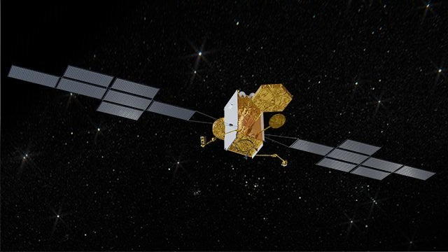 europejski koncern Airbus poinformował o podpisaniu kontraktu z Ministerstwem Obrony Wielkiej Brytanii w sprawie budowy i wyniesienia w kosmos satelity łączności Skynet 6A. Fot.: Airbus.