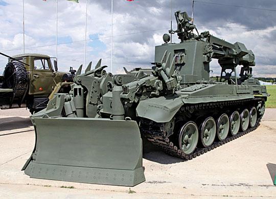 Pojazd torujący IMR-3M.