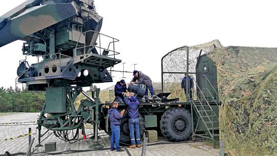 Serwis WZE S.A. podczas obsługiprzeciwlotniczego systemu rakietowego Newa-SC wwarunkach poligonowych.