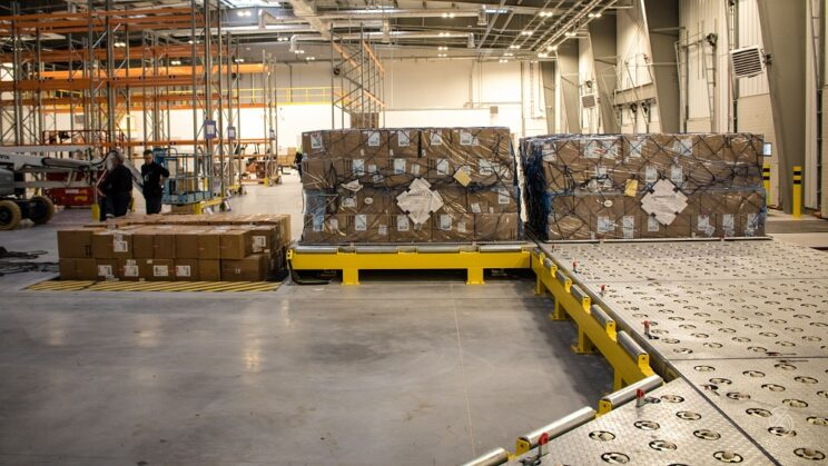 Linia technologiczna Cargo dla Welcome AS. Fot.: WCBKT S.A.