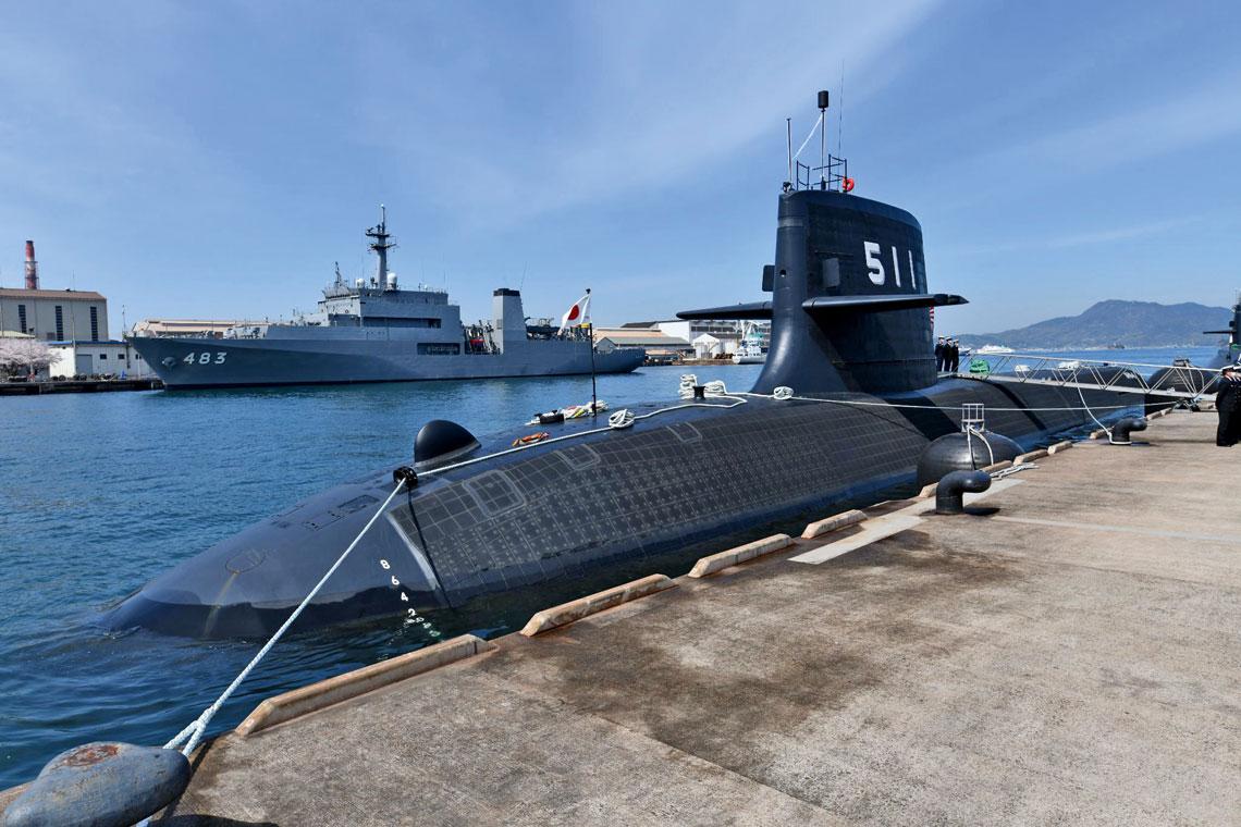 Ōryū – pierwszy bojowy okręt podwodny świata wyposażony jedynie wakumulatory Li-ion.