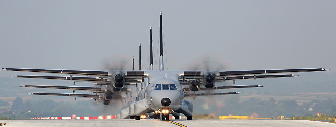 27lipca br. Inspektorat Uzbrojenia poinformował o zamiarze przeprowadzenia dialogu technicznego z Airbus Defence &Space w sprawie modernizacji i unifikacji lekkich samolotów transportowych C-295M, eksploatowanych przez 8.Bazę Lotnictwa Transportowego w Krakowie. Fot. Bartosz Bera/8. BLTr.
