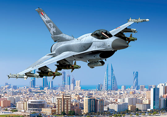 Pierwszym odbiorcą F-16 Block 70 jest Bahrajn, obecnie trwa montaż przynajmniej trzech egzemplarzy dla tego użytkownika.