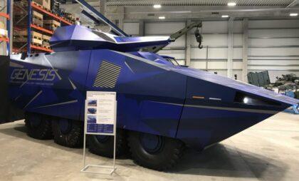 FFG prezentują transporter Genesis