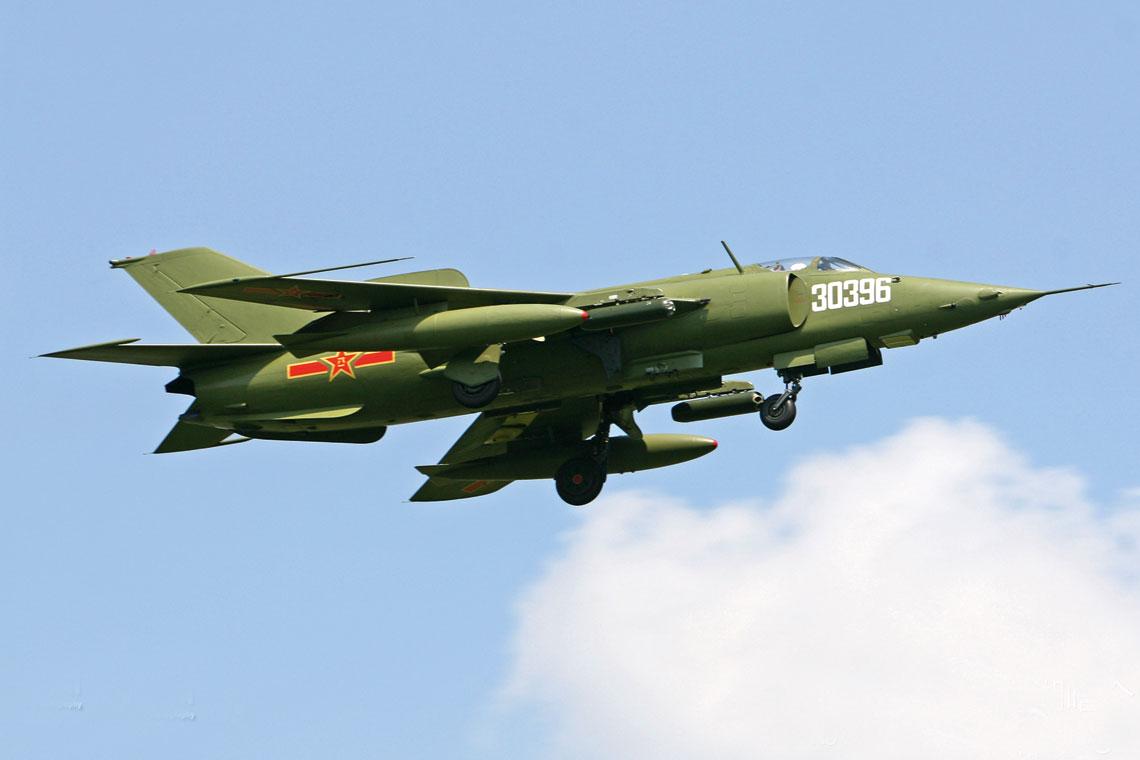 Q-5 był pierwszym chińskim samolotem bojowym opracowanym samodzielnie, który służył w lotnictwie ChRL 45 lat. Był podstawowym środkiem bezpośredniego i pośredniego wsparcia wojsk lądowych.