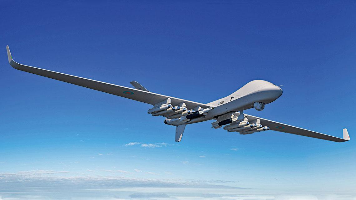 W lipcu Ministerstwo Obrony Wielkiej Brytanii zamówiło pierwsze trzy bezzałogowce General Atomics Protector RG Mk1.