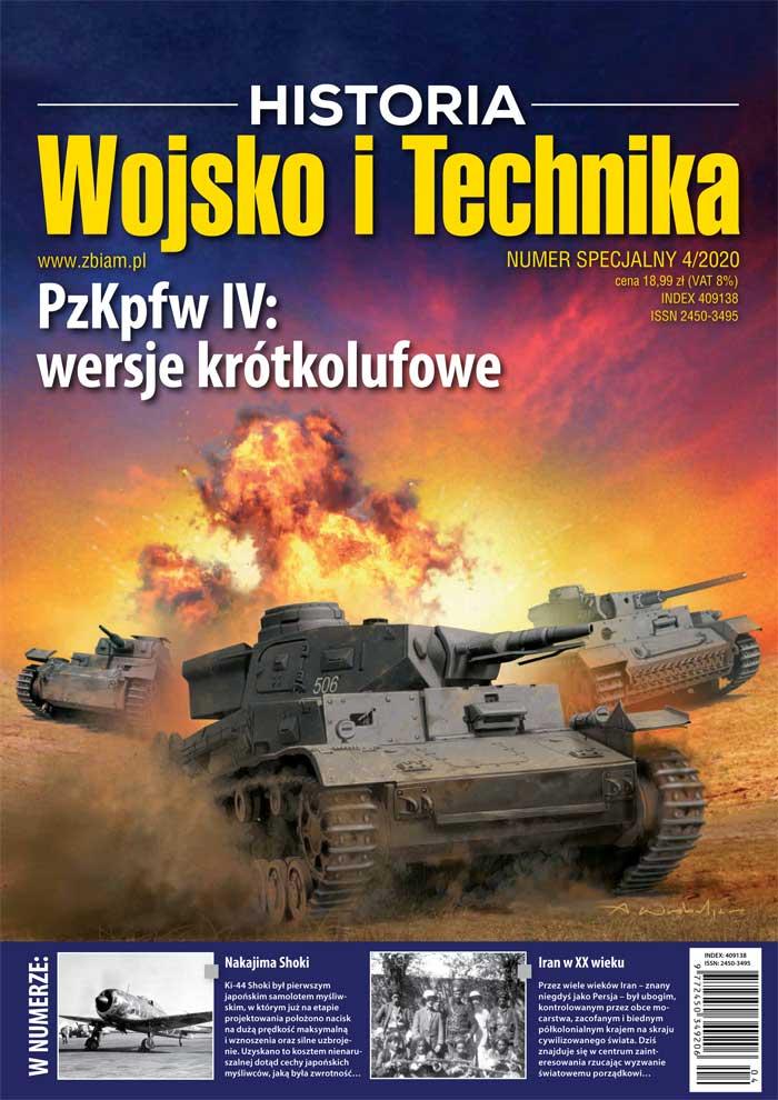 Czasopismo Wojsko i Technika Historia numer specjalny 4/2020