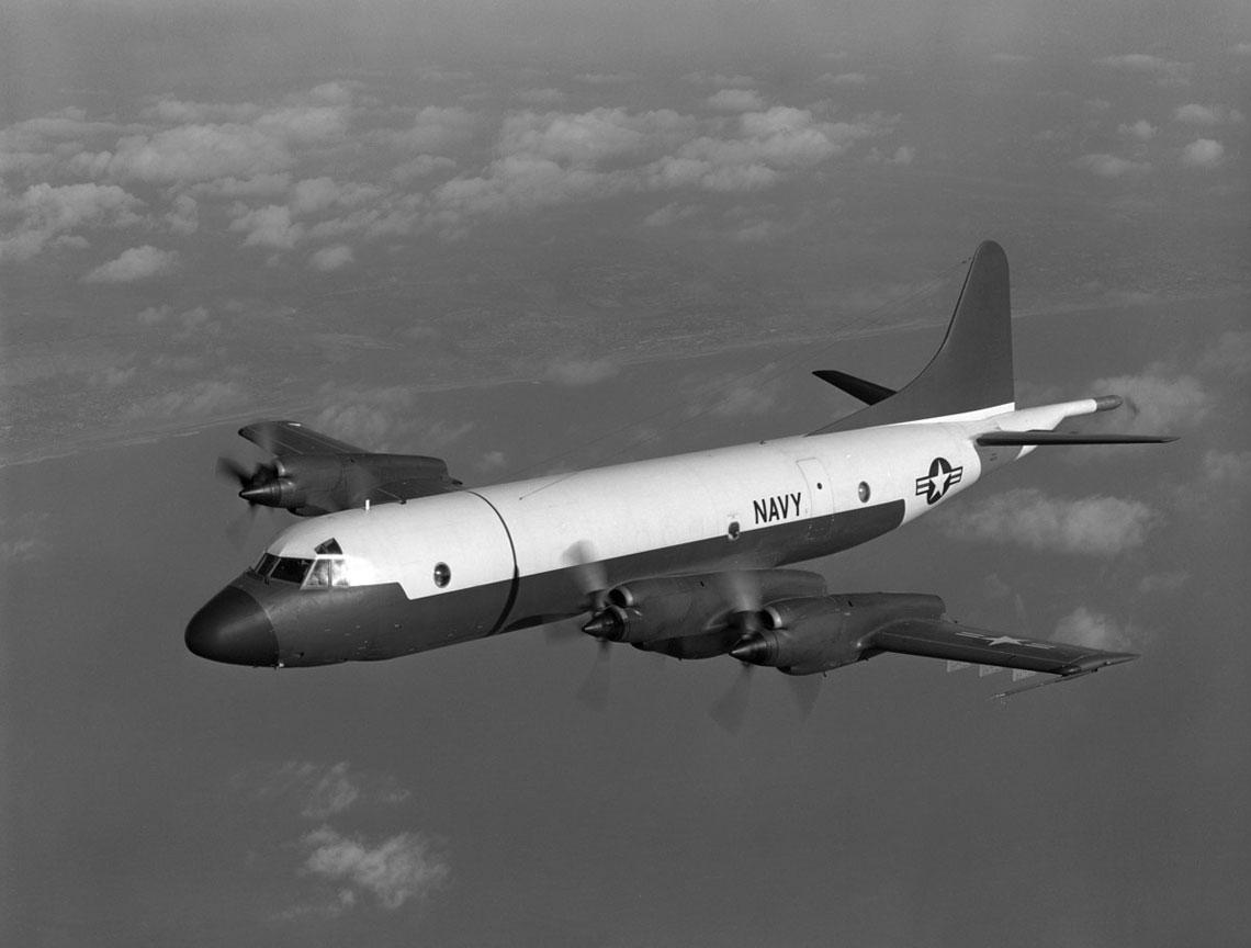 Oblot prototypu YP-3V-1 miał miejsce 25 listopada 1959 r. na lotnisku zakładowym firmy Lockheed w Burbank, w Kalifornii.