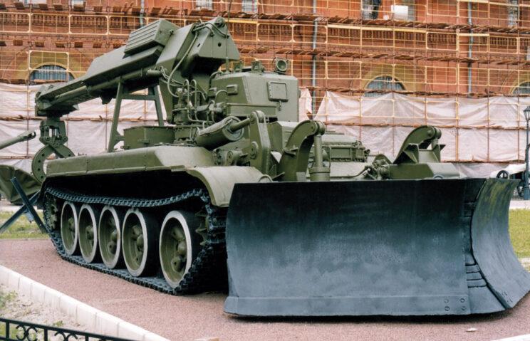 Wóz torujący IMR-1.