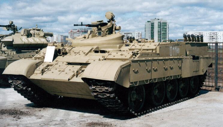 Prototyp ciężkiego transportera DPM.