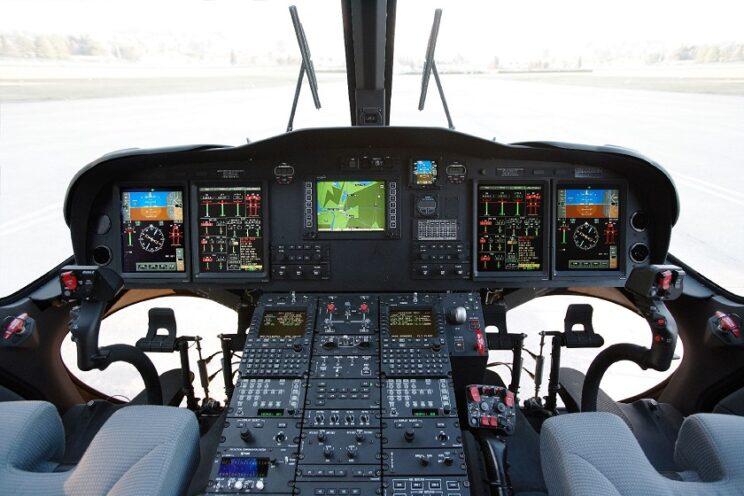 Kokpit śmigłowca AW139. Fot.: Leonardo