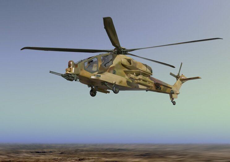 Wizja śmigłowca bojowego AW249. Il.: Leonardo