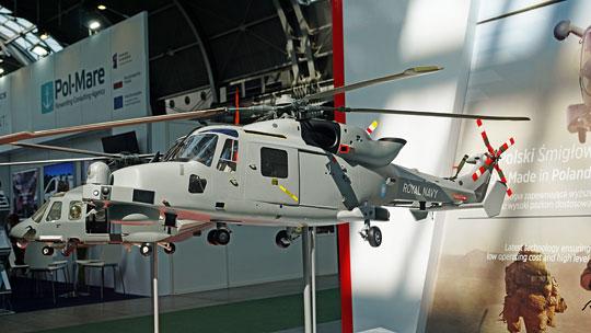 Faworyt programu Kondor, czyli AW159 Wildcat. Jego atutem jest możliwość instalacji wyposażenia hydrolokacyjnego zbliżonego do wybranego do polskich AW101.