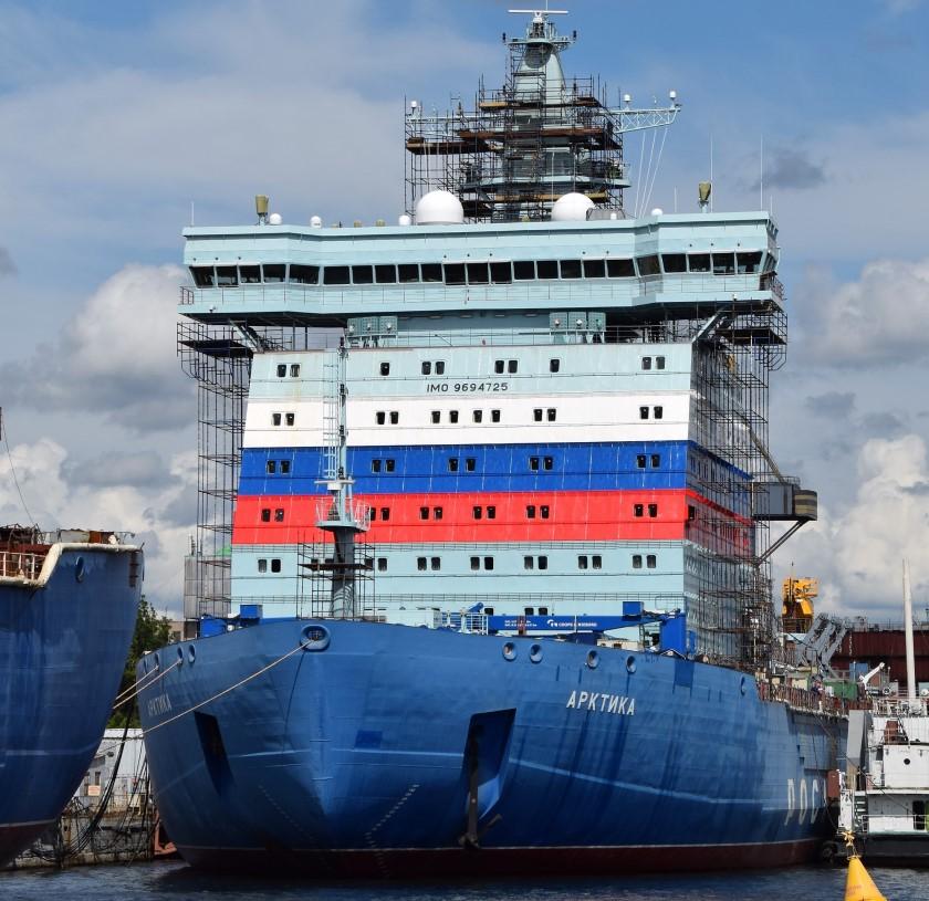 Lodołamacz atomowy Arktika