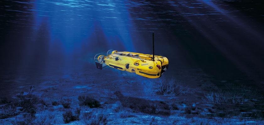 Double Eagle SAROV zastąpi Double Eagle'aMkIII iMorświna. Może działać jako pojazd inspekcyjny itransportujący ładunek wybuchowy do niszczenia min.