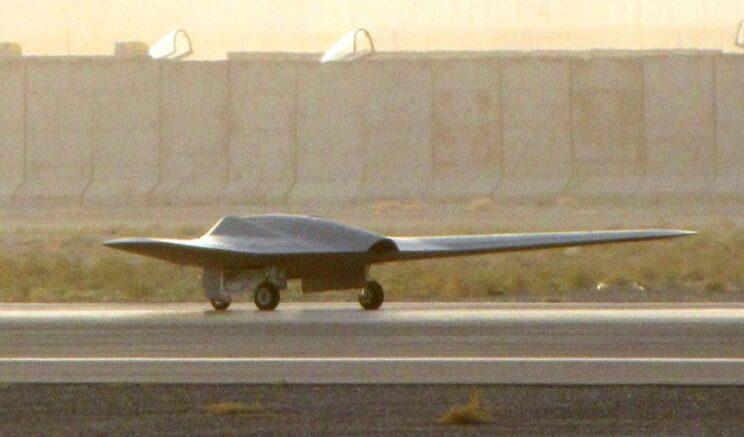 Bezzałogowy samolot rozpoznawczy RQ-170 Sentinel. Fot. UAS Vision