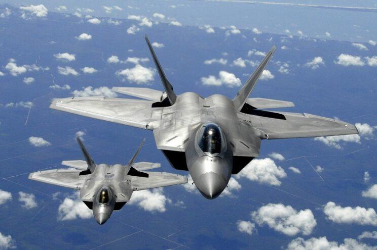 Samolot myśliwski F-22A Raptor. Fot. USAF