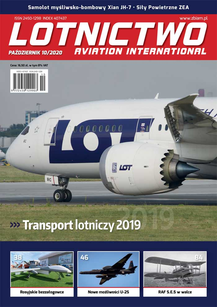 Lotnictwo Aviation International 10/2020
