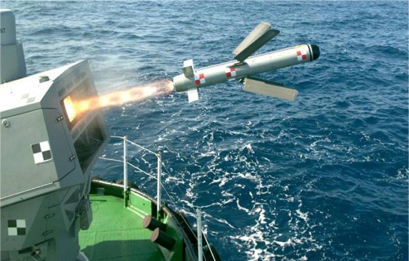 Morska wersja pocisku Spike NLOS. Fot. Rafael
