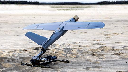 Kolejny element to bojowy bezzałogowy system uderzeniowy, np. zaparatami Warmate.