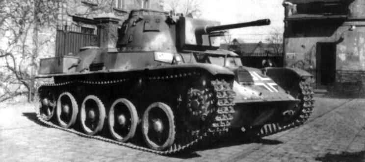 Prototyp pierwszego czołgu bojowego armii węgierskiej – Toldi; 1938 r.