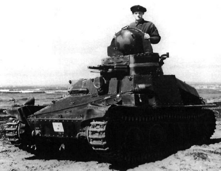 Wozem konkurującym z LT-34 była ČKD AH-IV