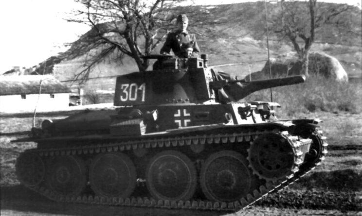 PzKpfw 38(t) – zdjęcie zrobione wiosną 1942 r. przed skierowaniem czołgu na front wschodni.
