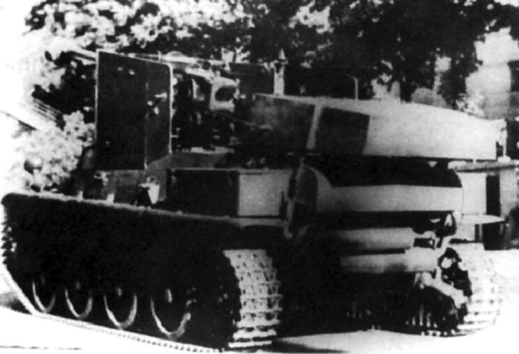 Prototyp węgierskiego niszczyciela czołgów na podwoziu czołgu Toldi. Nigdy nie wszedł do produkcji; 1943-1944 r.
