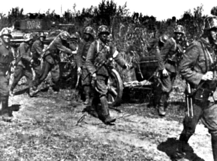 Oddziały 2. Dywizji Pancernej nad Donem, lato 1942 r.