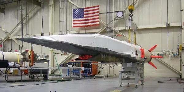 Amerykański pocisk demonstrator technologii Boeing X-51 Waverider. Fot. USAF