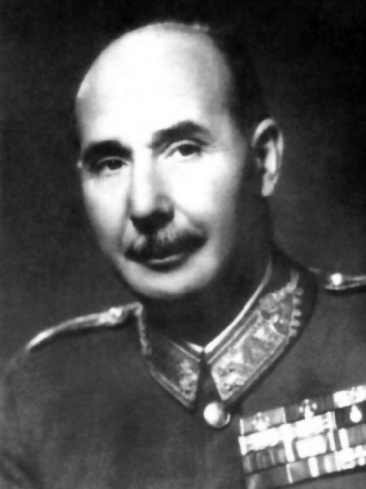 Gen. Lajos Veress, dowódca 1. Dywizji Pancernej do 1 października 1942 r.