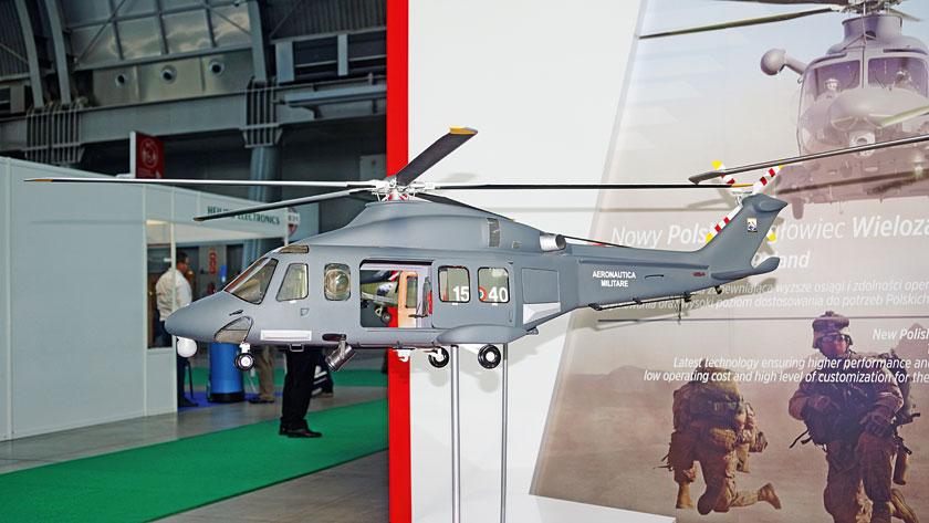 Wramach programu Perkoz Leonardo oferuje Polsce nową wersję śmigłowca AW139, dostosowaną do lokalnych wymagań. Montaż wiropłata mógłby być prowadzony wzakładach wŚwidniku.
