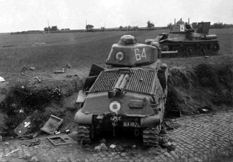 W kampanii 1940 r. francuskie jednostki pancerne nie miały okazji wystąpić jako zwarta całość i walcząc samodzielnie w charakterze taktycznego wsparcia, nie odniosły większych sukcesów bojowych.