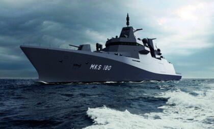Wizja artystyczna fregat MKS 180.