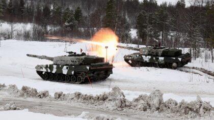 Norwegia planuje zastąpienie swych Leopardów 2A4NO nową konstrukcją. Rozważany jest zakup K2 lub Leopardów 2A7V. Fot. MO Norwegii.