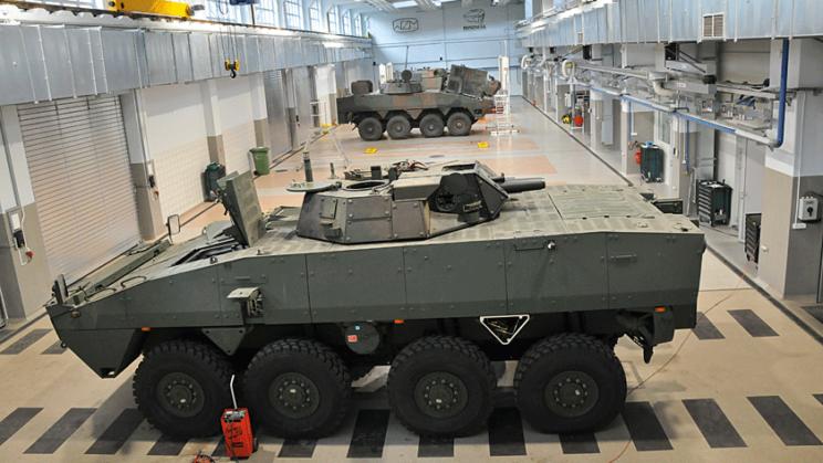 Zakłady Rosomak S.A. są przygotowane do realizacji wszelkiego typu obsług, napraw iprogramów modernizacyjnych różnorodnych pojazdów na bazie KTO Rosomak
