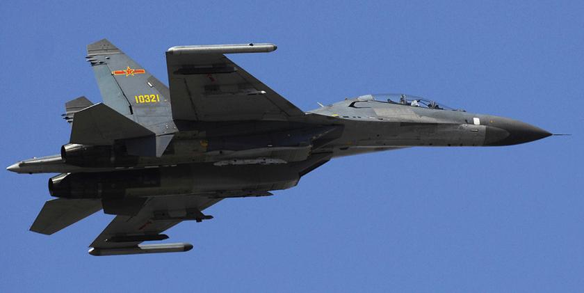 W ciągu ostatnich 20 lat chińskie lotnictwo myśliwsko-bombowe przeszło kardynalne przeobrażenia. Do służby wprowadzono samolot Xian JH-7 oraz, wzorowany na importowanym Su- -30MKK (na zdjęciu), Shenyang J-16.
