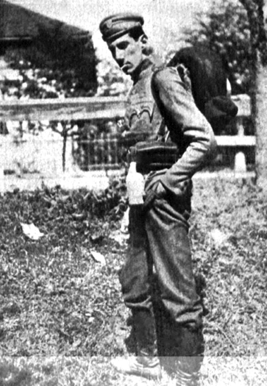 Po wybuchu I wojny światowej Józef Beck przerwał studia i wstąpił do Legionów Polskich. Przydzielony został do artylerii w I Brygadzie.